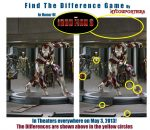 """Iron Man 3"" Find The Difference Game 1(Answer Key)"