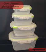 Ozeri Instavac Green Earth Food Storage containers