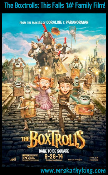 The Boxtrolls: This Falls 1# Family Film!