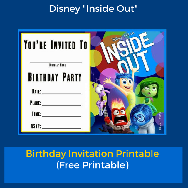 Free printable inside out birthday invitation templates planning an inside out party here is a free inside out birthday invitation stopboris Gallery