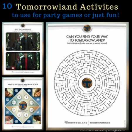 10 Tomorrowland Activites!