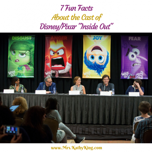 7 Fun Facts about the Cast of Inside Out