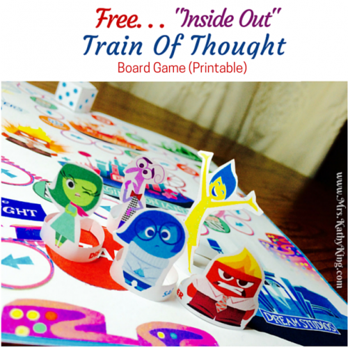 Free Inside Out Broard Game Printable
