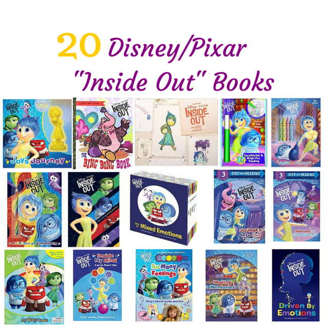 a list of 20 Inside Out Books