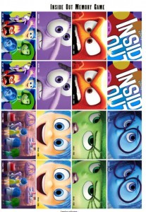 Free Inside Out Memory Game Event