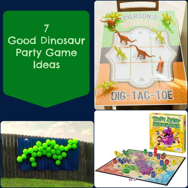 7 Good Dinosaur Party Game Ideas
