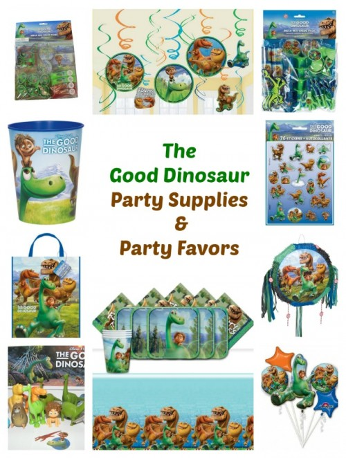 The Good Dinosaur Party Supplies Party Favors