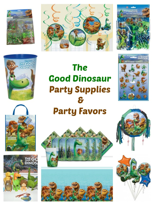 Looking The Good Dinosaur Party Supplies Favors And More Our List Includes