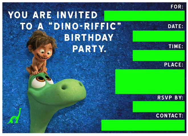 Free Good Dinosaur Birthday Party Playdate Invitation Templates – Free Printable Dinosaur Birthday Party Invitations