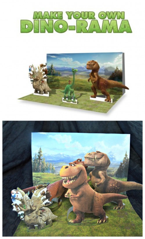 good dinosaur printable dino rama activity main image