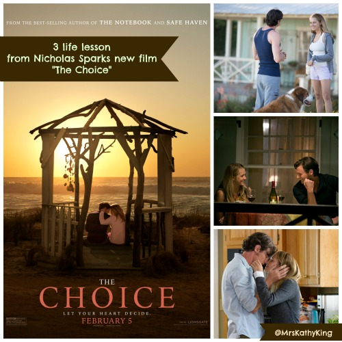 3 life lesson from Nicholas Sparks new film The Choice