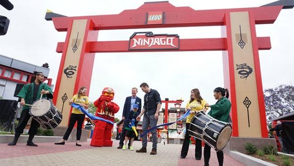 Ninjago World Officially Opens at Legoland California Resort