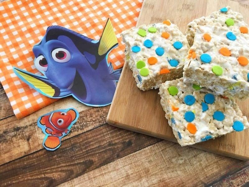 Finding Dory Rice Krispies Snacks #FindingDory