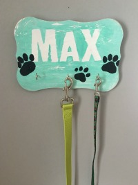 The Secret Life of Pets Birthday Party Idea DIY Dog Leash Holder feature image slider