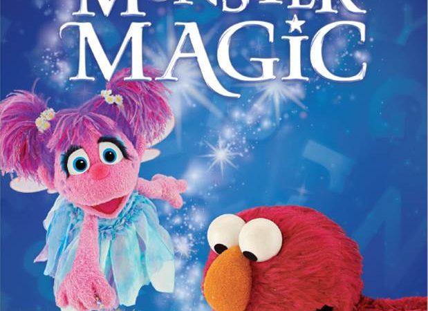 Sesame Street: Monster Magic on DVD October 4th