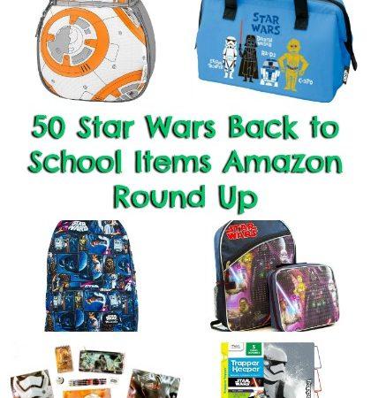 50 Star Wars Back to School Items
