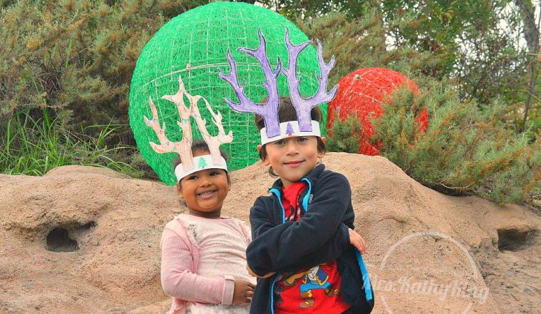 Los Angeles Zoo Reindeer Romp #LAZoo