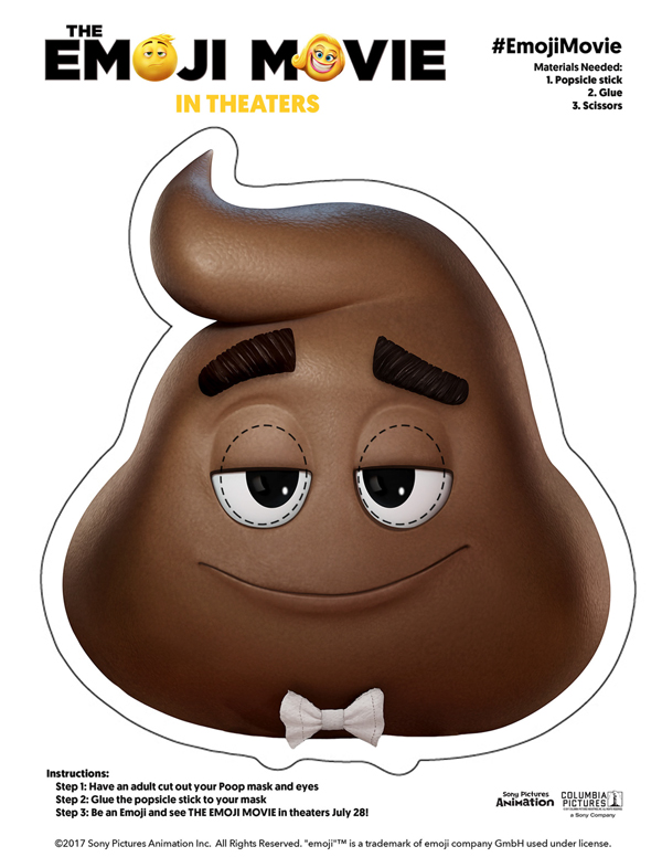 Transformative image intended for free printable poop emoji