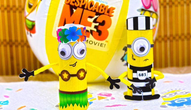 Despicable Me 3 – Minions Craft #QuickerPickerUpper, #DespicableMe3 #ad