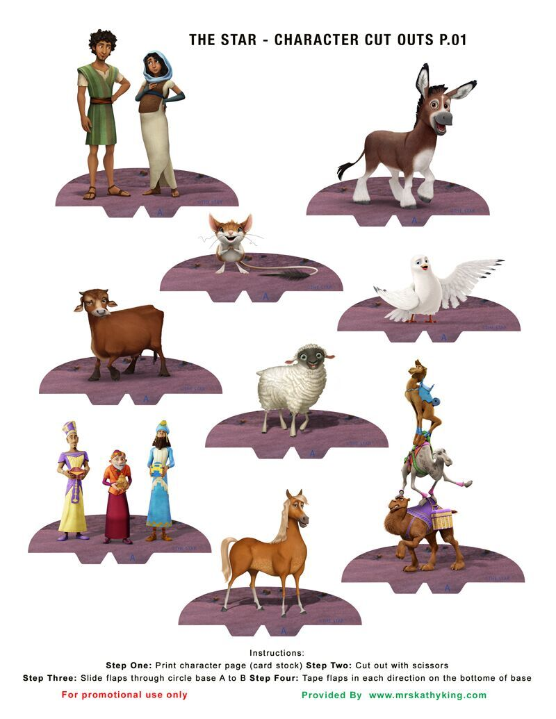 It is a photo of Hilaire Printable Christmas Decorations ( Cutouts)