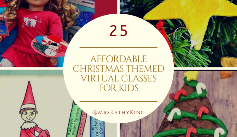 (Ad) 25 Fun & Affordable Christmas Themed Virtual Classes for Kids